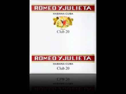 Romeo y Julieta Club 20