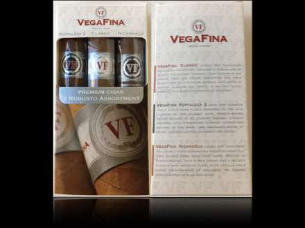 VegaFina Robusto Assortment 2017